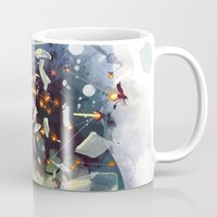 earthbound Mugs featuring Big Bang by Travis Clarke