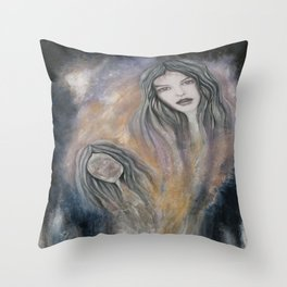 in-depth in soul  Throw Pillow