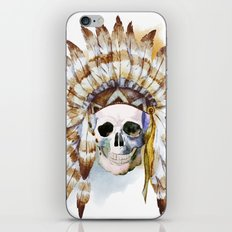 Skull 02 iPhone & iPod Skin