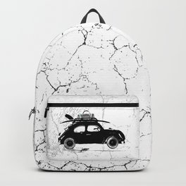 Vintage Car Stamp Backpack