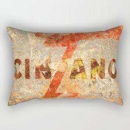 Cinzano - Vintage Vermouth Rectangular Pillow