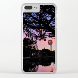 Canal Magic Clear iPhone Case