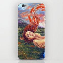 The Birth of Phoenix iPhone Skin
