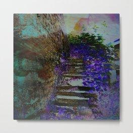 Purple Steps Metal Print