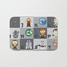 Star Wars Alphabet Bath Mat