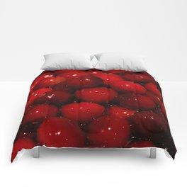 Cranberries Photography Print Comforters