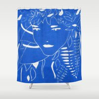 fern Shower Curtains featuring FERN by Andrea Jean Clausen - andreajeanco