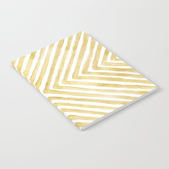 Gilded Bars Notebook