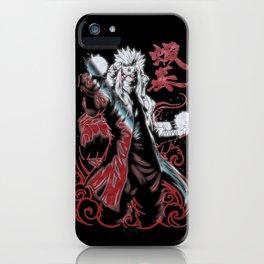 Jiraiya Sennin Modo iPhone Case