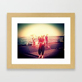 SPRING BREAK L.A. Framed Art Print