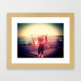 SPRING BREAK L.A. Framed Art Print