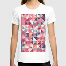 Lovely Geometric Background T-shirt