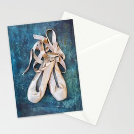 A Pair Of Pointe Shoes Stationery Cards