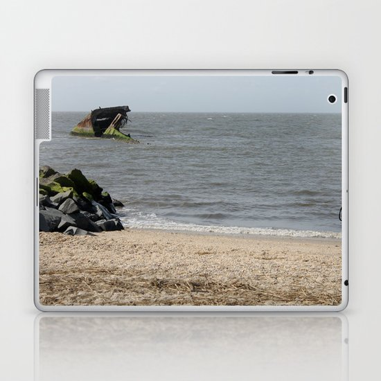 Cement Ship Laptop & iPad Skin
