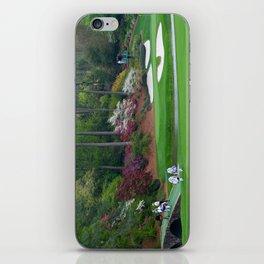 Golf's Amen Corner Augusta Georgia - Golfers on Bridge iPhone Skin