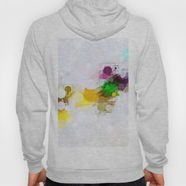 Happy Color Geometrical Pattern Abstract Hoody