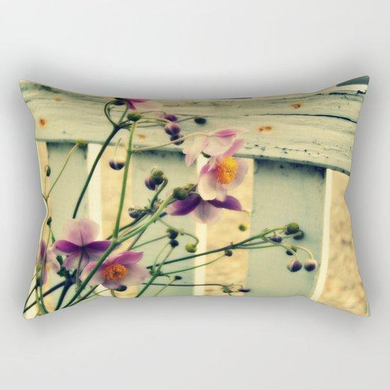 Last in the season Rectangular Pillow