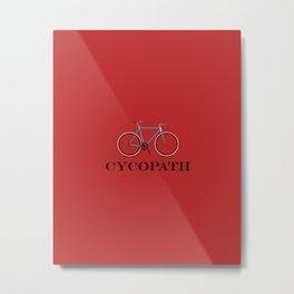 Cycopath red Metal Print