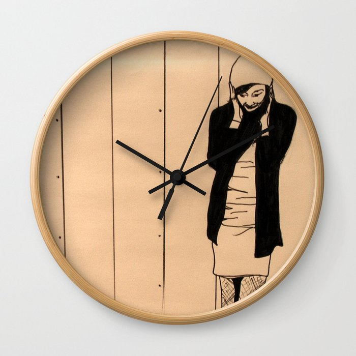 Cold Ears Wall Clock