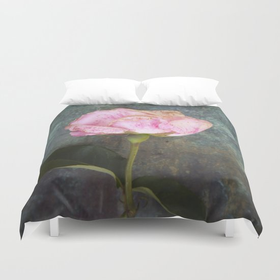 Wilted Rose III Duvet Cover