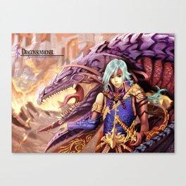 Dragon Summoner Canvas Print