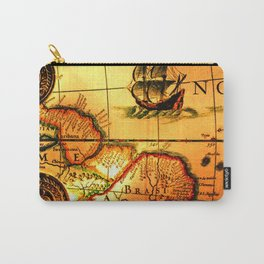 map sea Carry-All Pouch