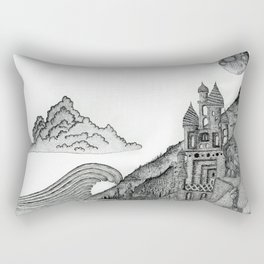 Castle the C Rectangular Pillow