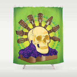 Guitar Jam Shower Curtain
