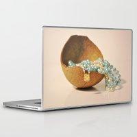seashell Laptop & iPad Skins featuring Seashell by Sowthistle