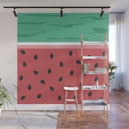 Fresh Watermelon Wall Mural