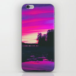 Aesthetic 80s Vibes iPhone Skin