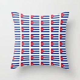 Flag of Chile 2 -Spanish,Chile,chilean,chileno,chilena,Santiago,Valparaiso,Andes,Neruda. Throw Pillow