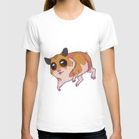 hamster T-shirts featuring Hamster by Suzanne Annaars