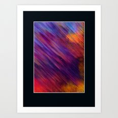Interaction of Colors Digital Painting Art Print