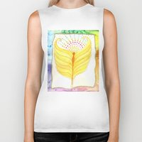 angel wings Biker Tanks featuring Angel Wings  by ChristiaSoulArt