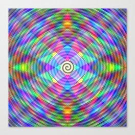Abstract Digital Crystal #3 Canvas Print