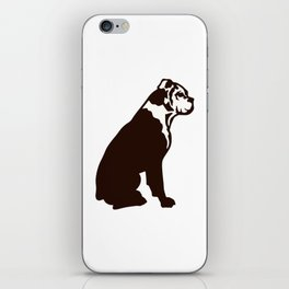 Buddy the boxer iPhone Skin