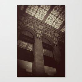 Wintrust Building Columns Original Photo Canvas Print