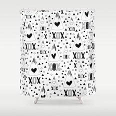 X.O.X. Shower Curtain