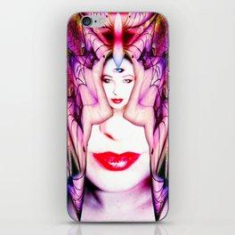 Crystal Bat Mask iPhone Skin