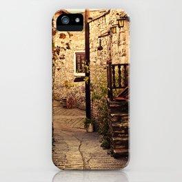 Omodos Cyprus Alley iPhone Case