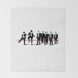 Reservoir Brothers Throw Blanket