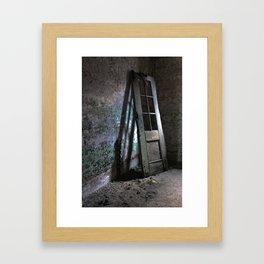 Decrepit Door Framed Art Print