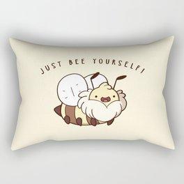 Just Bee Yourself Rectangular Pillow