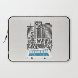 Miami Cityscape Laptop Sleeve