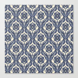 Victorian Scroll Pattern Canvas Print
