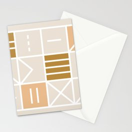 at odds – light palette Stationery Cards