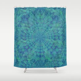 Lotus of Divinity Shower Curtain