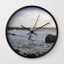 The Coast Of Foam Wall Clock