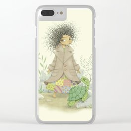 Momo Clear iPhone Case